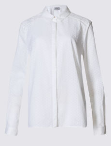 Pure Cotton Embroidered Long Sleeve Shirt pictures & photos
