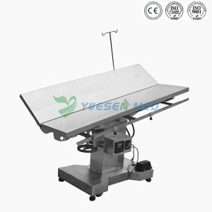 Ysvet0504 Medical Veterinary Operating Cheap Electric Animal Operation Table pictures & photos