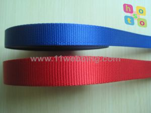 High Tenacity 25mm Flat Nylon Webbing for Pet Collars Leash pictures & photos