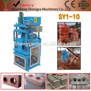 Shengya Brand Full Automatic Cement Interlocking Brick Making Machine Sy1-10 High Yield Clay Block Making Machine pictures & photos