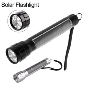 High Lumen Solar LED Torch with 7 LED Spot Light pictures & photos