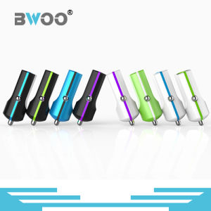 Portable Colorful Single USB Car Charger Phone Charger pictures & photos