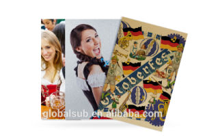 Sublimation Brushed Aluminum Sheets with Heat Press Blank pictures & photos
