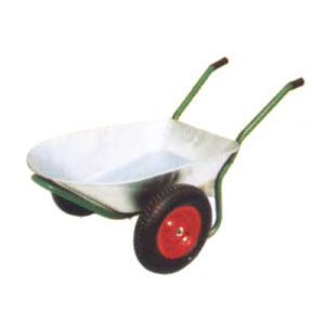 Metal Double Wheel Heavy Duty Russia Popular Concret Wheelbarrow (WB6406) pictures & photos