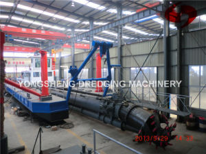 Dredging Pontoon with HDPE Pipe (CSD 500) pictures & photos