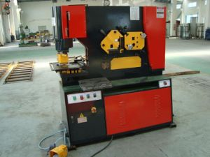 Hydraulic Punching Shearer, Iron Worker, Punching and Shearing Machine pictures & photos