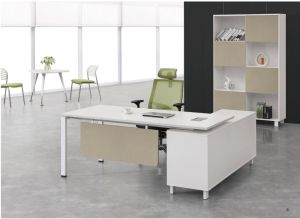 L-Shaped Modern Office Melamine Executive Manager Desk pictures & photos