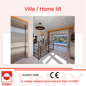 Low Noise, Durable and Safety Villa Elevator Without Hoist-Way, Sn-EV-011 pictures & photos