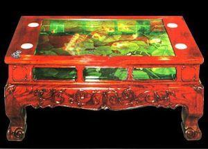 Acrylic Polygon Tea Table Aquarium, Decoration Fish Tanks (1m*0.3m)