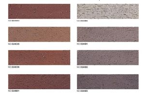 Clay Extruded Wall Tile Facing Brick Tile Outside Bricks pictures & photos