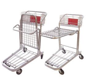 Supermarket Use Metal Folding Cargo Trolley (JT-E20) pictures & photos