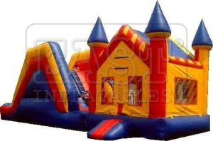 Inflatable Sides Castle (E3-043)