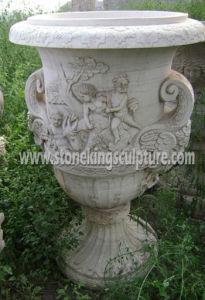 Marble Flowerpot & Vase, Stone Flowerpot & Vase pictures & photos