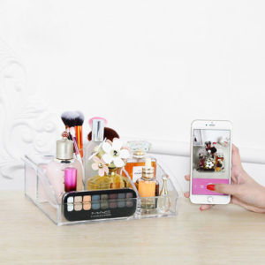 Large Transparent Household Acrylic Cosmetic Drawer Type Storage Box pictures & photos
