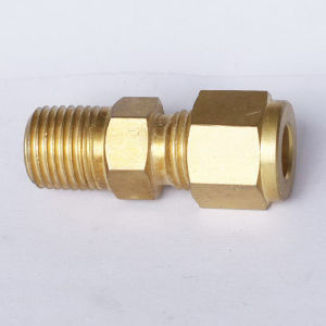 Male Thread Compression Connector, Swagelok Brass Fitting