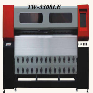 Format Solvent Printer (TW-3308LE with Panasonic Servo Moto, Fastest Speed: 214m2/Hr)