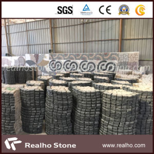 G682 Granite Fan-Shaped Cobble Stone/Paving Stone with Mixed Color G684 pictures & photos