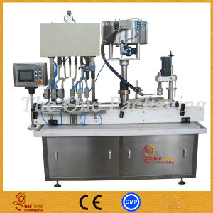 Gravity Monoblock Liquid Filling and Capping Machine pictures & photos