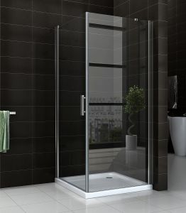 Bathroom Top Corner Complete Sliding Square Shower Enclosure 90 pictures & photos