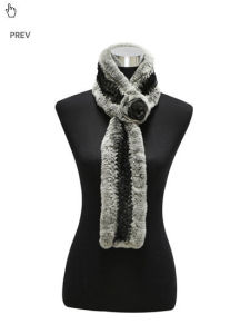 Lady′s Fashion Fur Scarf (FB-90506) pictures & photos