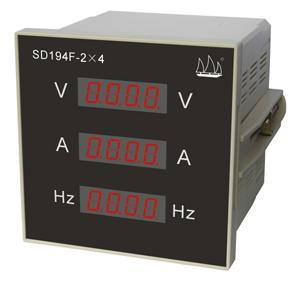 Voltage & Current & Frequency Digital Meter (SD194F-2*4)