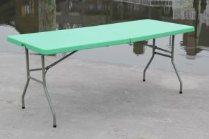Green Plastic Folding Table 72′′*30′′*29′′ (SY-183Z) pictures & photos