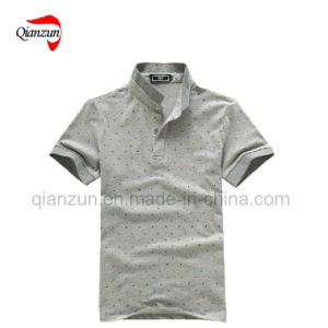Polo Neck T-Shirt (D40) pictures & photos