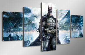 HD Printed Batman Movie Poster Group Painting Canvas Print Room Decor Print Poster Picture Canvas Mc-071 pictures & photos