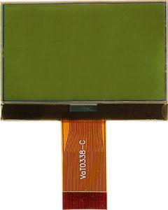 STN LCD Module, 160*80, COG (YG-1608008G-FS6N0-VA)