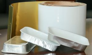 Coated Aluminum Foil for Food Container pictures & photos