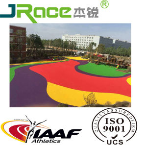 Kids Outdoor Non-Slip EPDM Rubber Athletic Sports Surface Running Track pictures & photos