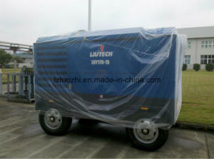 Atlas Copco - Liutech 599cfm 15bar Screw Diesel Air Compressor pictures & photos