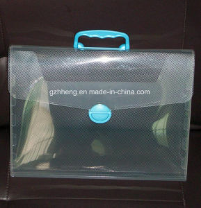 Factory custom printing plastic bag for file (PP file bag) pictures & photos