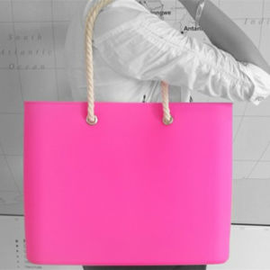 New Designer Eco-Friendly Silicone Beach Bag for Women pictures & photos