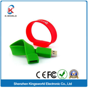 8GB Silicon Bracelet USB Flash Disk with Factory Prices pictures & photos