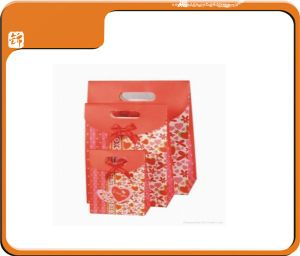 Fashion Colorful Gift Sealable Paper Gift Bag