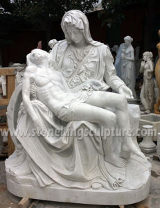 Hand Carved Famous White Marble Sculpture (SK-2363) pictures & photos
