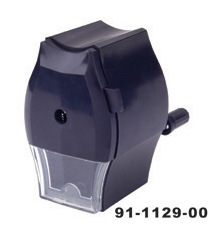 1 Hole Hand Crank Pencil Sharpener (91-1129-00)