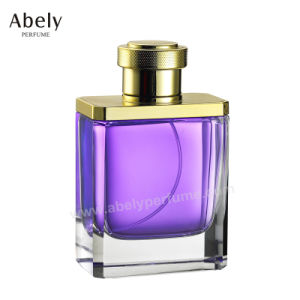 New Metalising Heavy Glass Perfume Bottles for Women pictures & photos