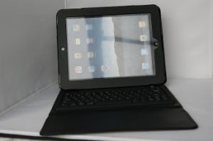 iPad2 Leather Case Bluetooth Keyboard