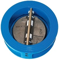 Wafer Type Dual Disc Check Valve pictures & photos