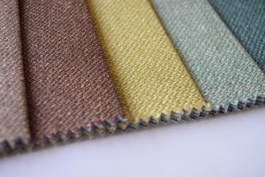 100%Polyester Fabric Polyester Linen Fabric for Home Textile pictures & photos