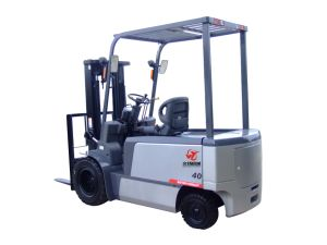 4000kg Ce AC Motor Electric Forklift Truck pictures & photos