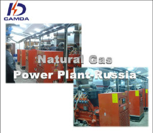 Natural Gas Power Plant in Russia (KDGH120-G)