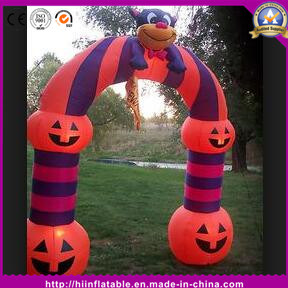 Outdoor Halloween Pumpkin Arch for Halloween Party Event Decoration