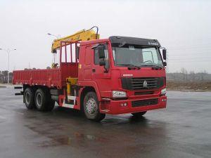 Sinotruk HOWO 6X4 Crane Mounted Truck
