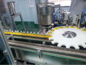 Automatic Perfume Filling and Capping Machine Essential Oil Filling Machine (ZHS-50) pictures & photos