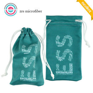 Hot Sale Customized Microdiber Drawstring Bag for Jewelry pictures & photos