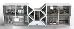 Cheap Prefabricated Container House / Modular House 20ft or 40ft pictures & photos