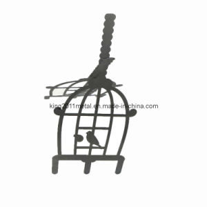 Metal Craft Bird Cage (KOM-112BST)